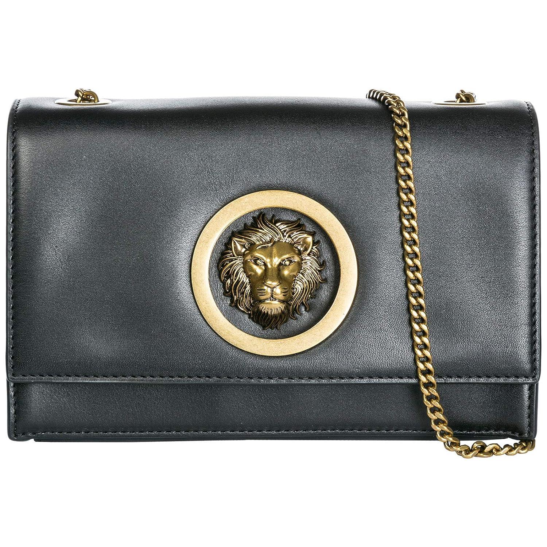 39ea0de141 Amazon.com: Versus Versace women Lion Head clutch bag black ...