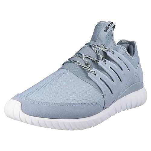 best website 1d080 2e1e9 adidas Originals Tubular Radial Men s Sneakers Grey, Shoe Size 48 ...