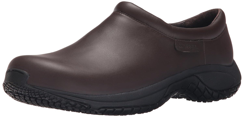 a1f9c286108a Amazon.com  Merrell Men s Encore Moc Pro Grip Slip-Resistant Work Shoe   Shoes