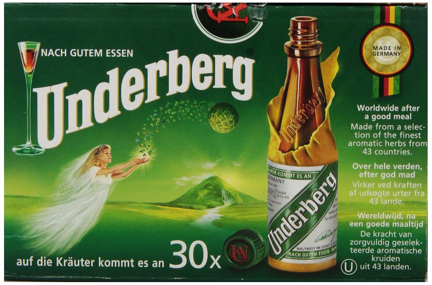 underberg  : Underberg Bottle Convenience Pack, 30 Bottle : Herbal ...