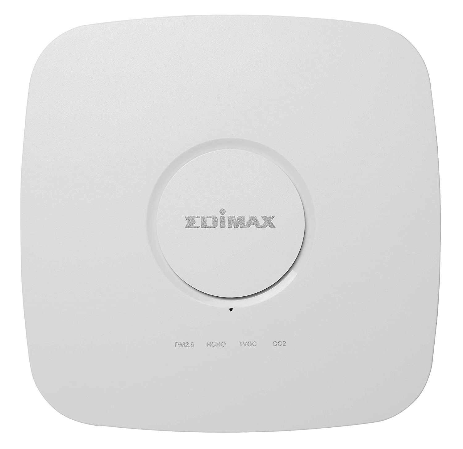 Edimax AI-2002W, Airbox : 7-in-1 Multi-Sensor Indoor Air Quality Detector with PM2.5, PM10, CO2, TVOC, HCHO, Temperature and Humidity Sensors
