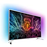 Philips 65PUS6521/12 164cm (65 Zoll) Fernseher (3-seitiges Ambilight, 4K Ultra HD, Triple Tuner, Android TV)