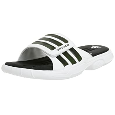hot sale online 363c2 1c7d0 adidas Men s SS 2G Slide 2 Sandal,White Black White ...