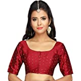 Studio Shringaar Women's Polyester Saree Blouse