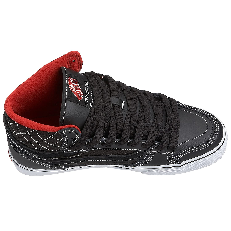 3e93e1dbd7 Vans Men s Owens Hi Vulc MU black white VHH1Y28 5.5 UK  Amazon.co.uk  Shoes    Bags