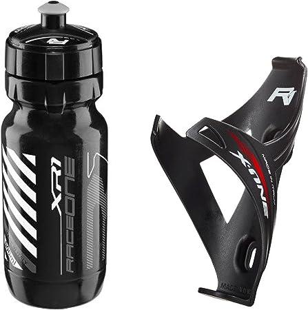 Raceone - Kit Race Duo X1 Matt (2 PCS): Porta Bidon X1 + Bidon de ...