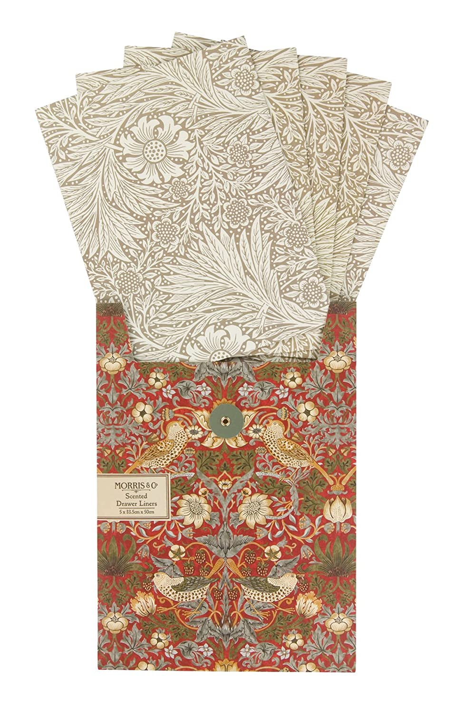 Morris & Co. - Papel perfumado para cajones (5 Unidades)