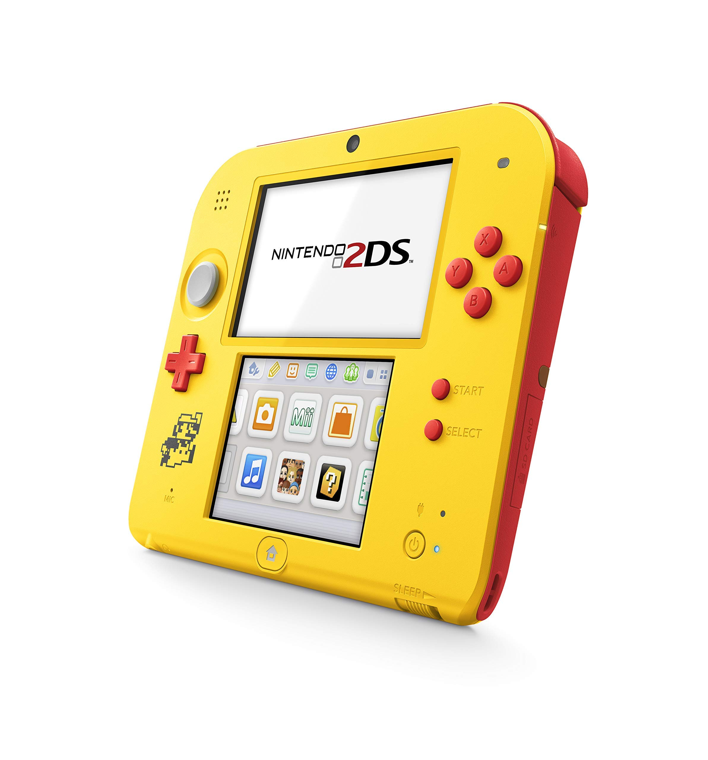 Nintendo 2DS Super Mario Maker Edition (w/ Super Mario Maker for 3DS (Pre-Installed)) - 2DS (Renewed)