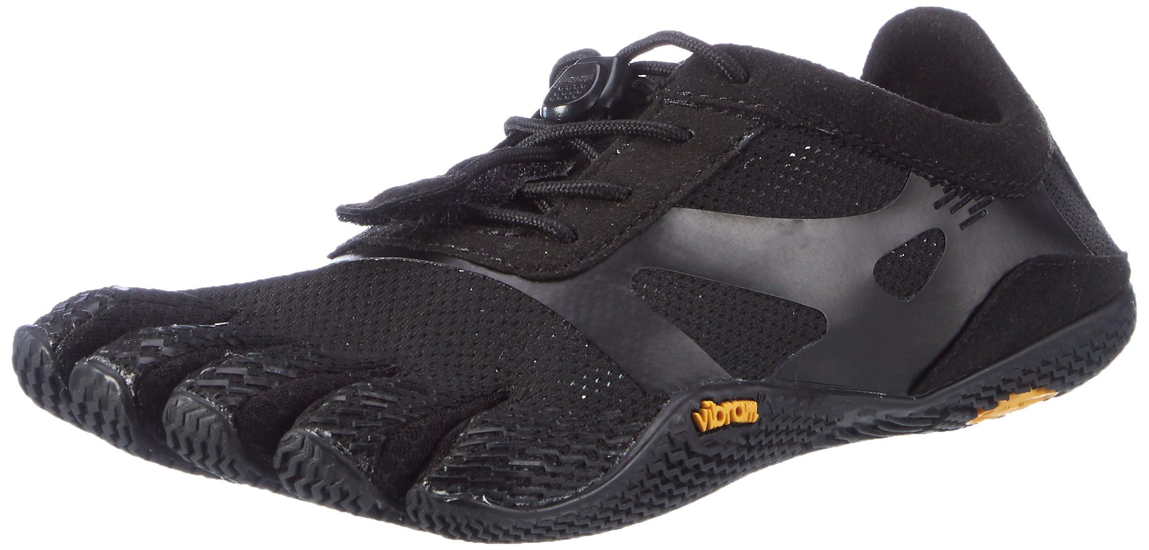 Vibram Women's KSO Evo Cross Training Shoe, Black,39 EU/8 M US