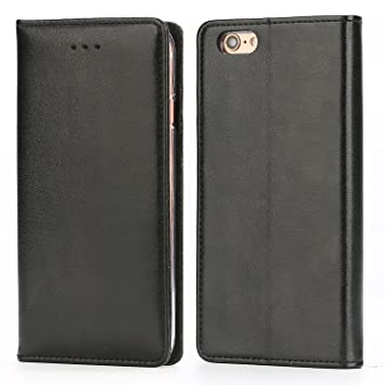 c3d4864ad50 Funda iPhone 6 / 6S, IPHOX Cuero Fundas iPhone [Ranuras para Tarjetas][