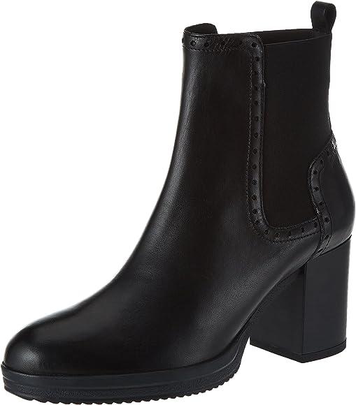 Miguel Ángel Desarmamiento Responder  Geox Women's D Remigia F Ankle Boots, (Black C9999), 2.5 UK: Amazon.co.uk:  Shoes & Bags
