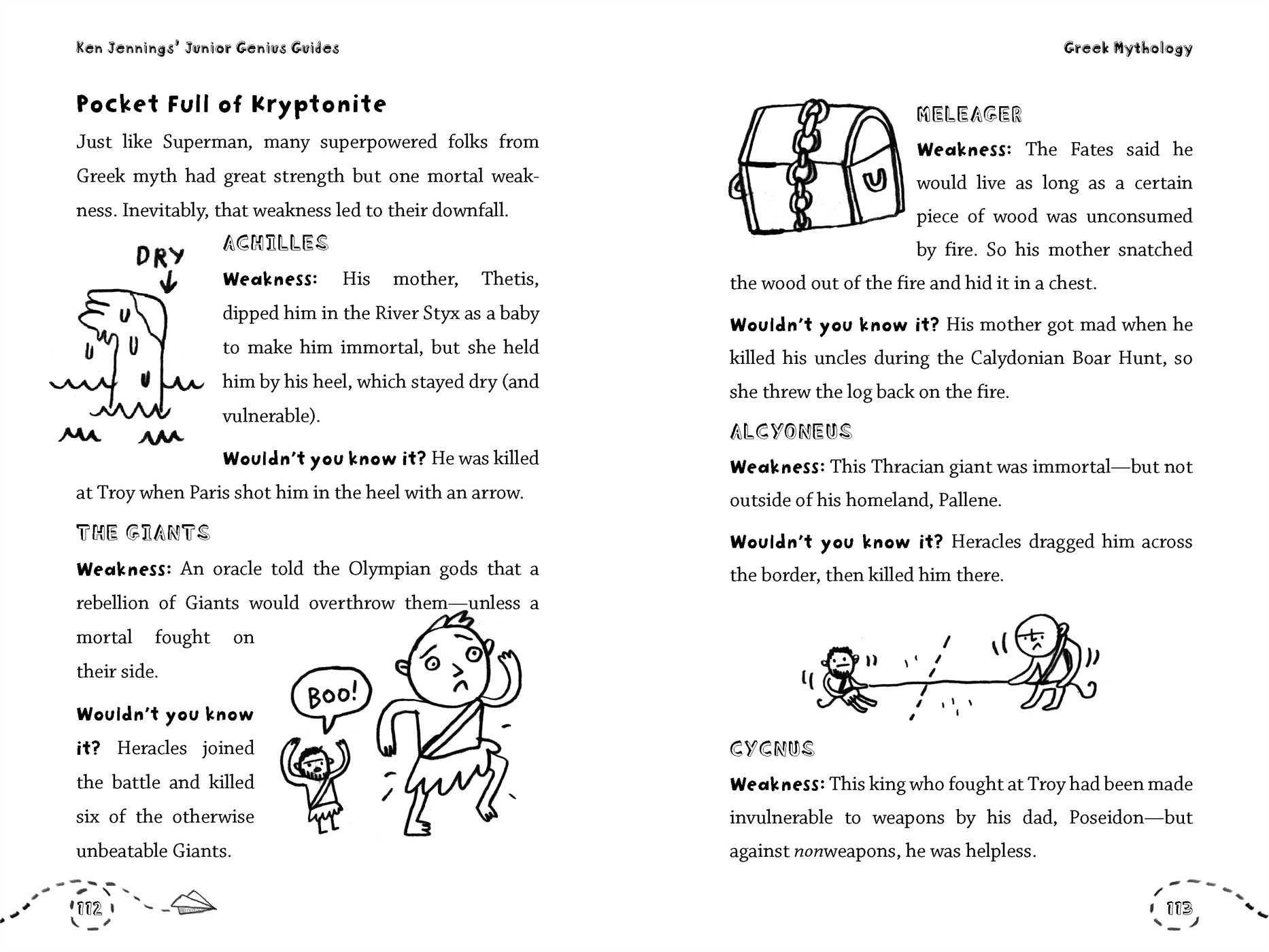 Greek Mythology Ken Jennings Junior Genius Guides Ken Jennings