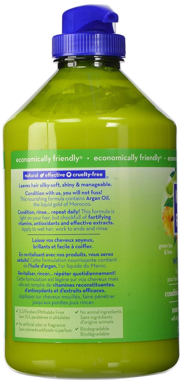 Siempre que Acondicionador, Té Verde y de la cal, 32 onzas líquidas (946 ml) - Kiss My Face: Amazon.es: Belleza