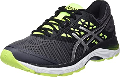 Asics Gel-Pulse 9, Zapatillas de Running para Hombre, Gris (Carbon/Silver/Safety Yellow 9793), 47 EU: MainApps: Amazon.es: Zapatos y complementos