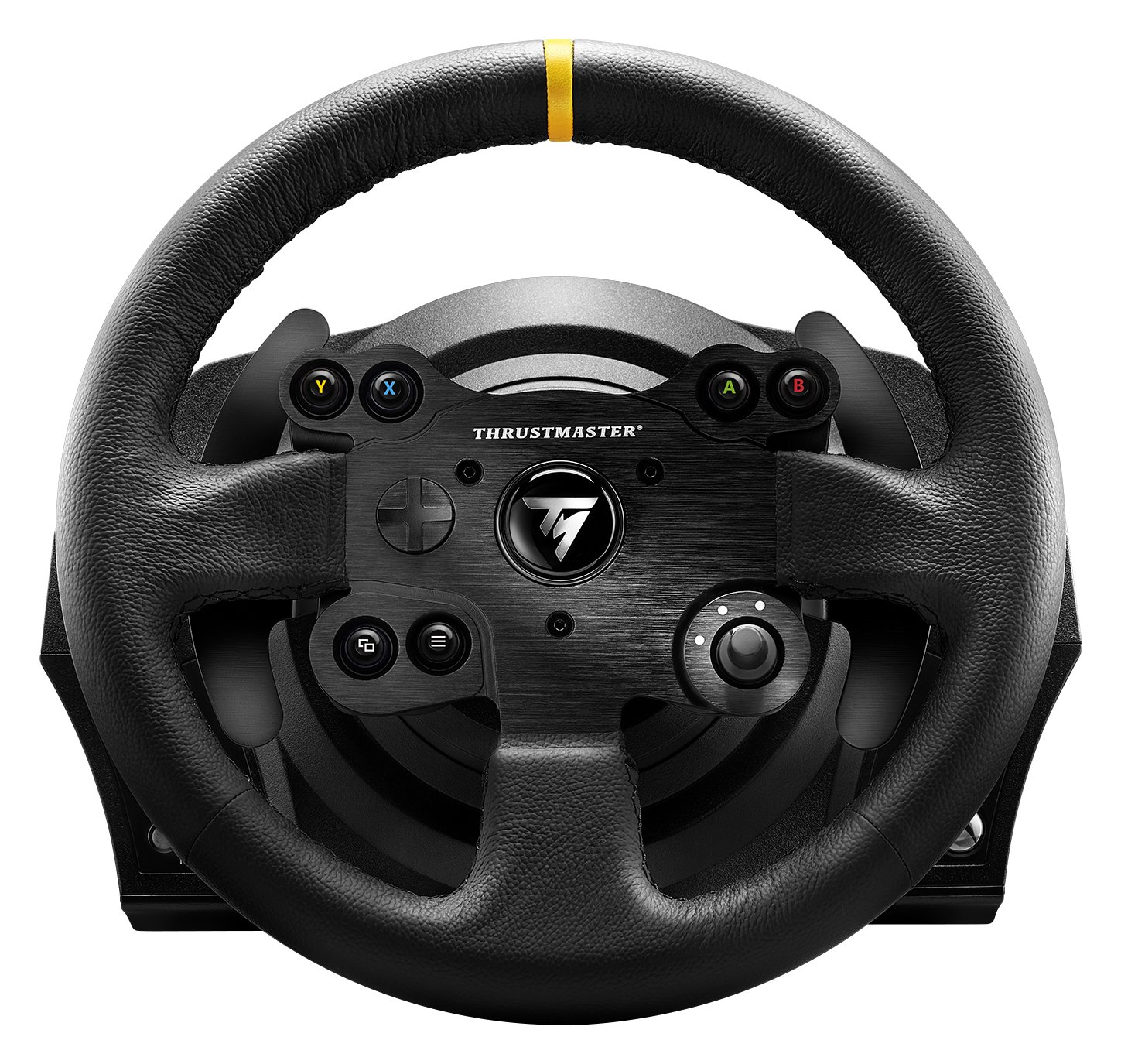 Thrustmaster TX RACING WHEEL LEATHER EDITION - Volante - XboxOne / PC -Force Feedback - 3 pedales - Licencia Oficial...