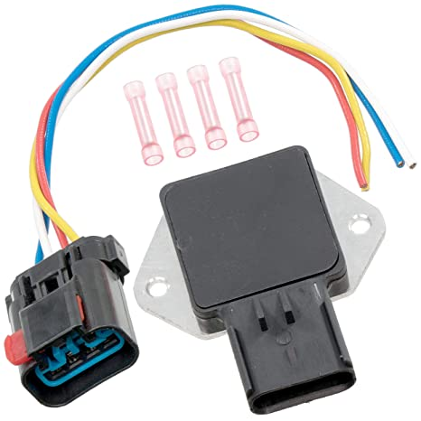 apdty 013414 radiator fan control relay w/wire wiring harness pigtail  connector (note: