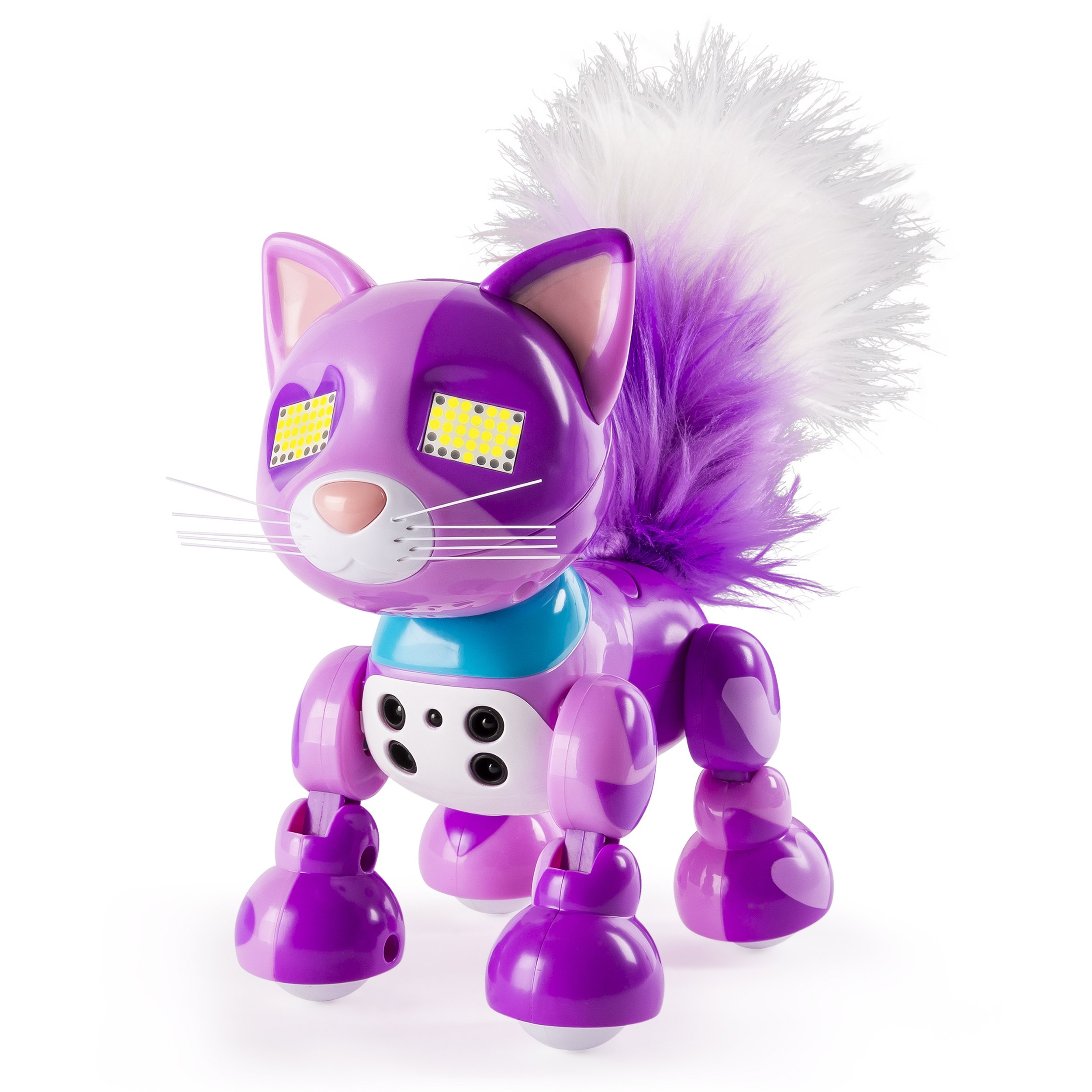 Zoomer Meowzies, Viola, Interactive Kitten with Lights, Sounds and Sensors, by Spin Master by Zoomer (Image #5)