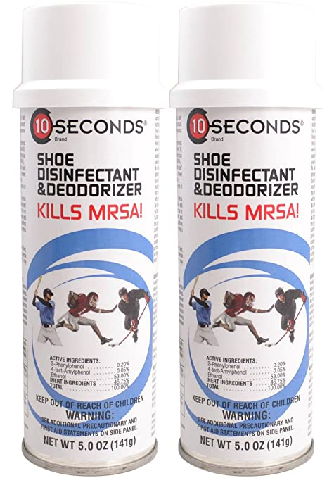 Amazon.com : 10-Seconds Shoe Deodorizer and Disinfectant - The ...