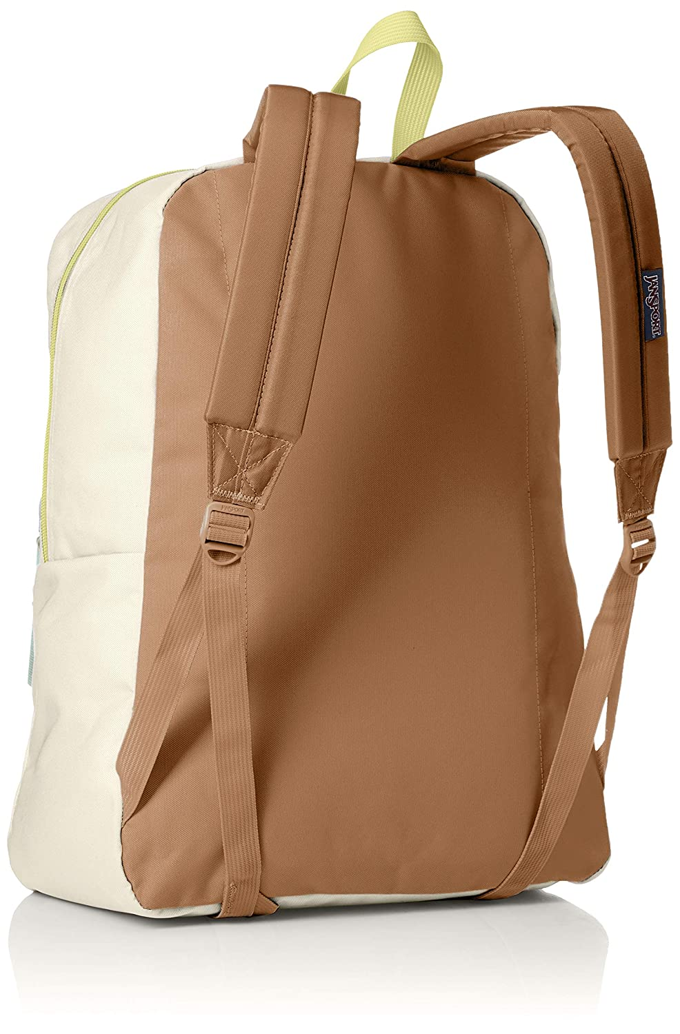 Amazon.com   JanSport Exposed Backpack (Soft Tan/Limade)   Casual Daypacks