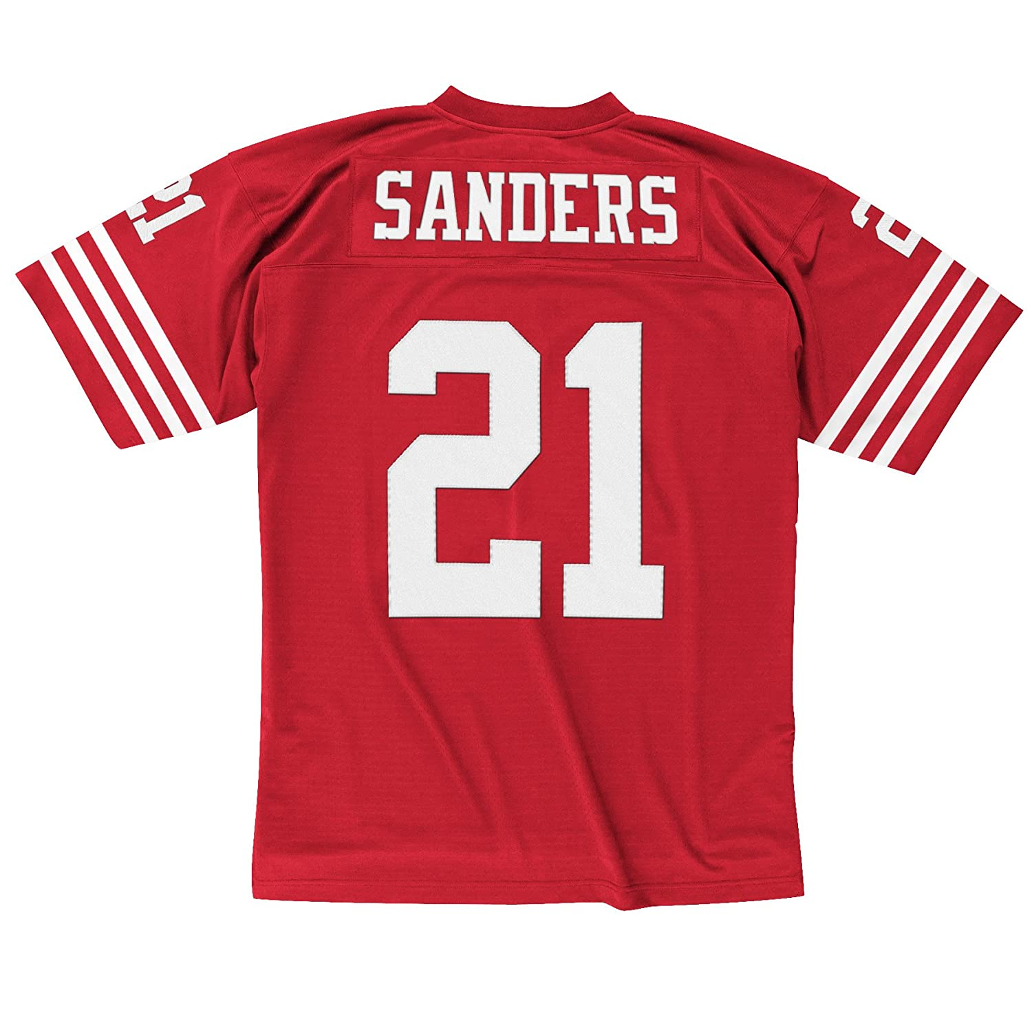 11f76bfc52e Amazon.com : Mitchell & Ness Deion Sanders 1994 San Francisco 49ers Home  Red Legacy Jersey : Sports & Outdoors