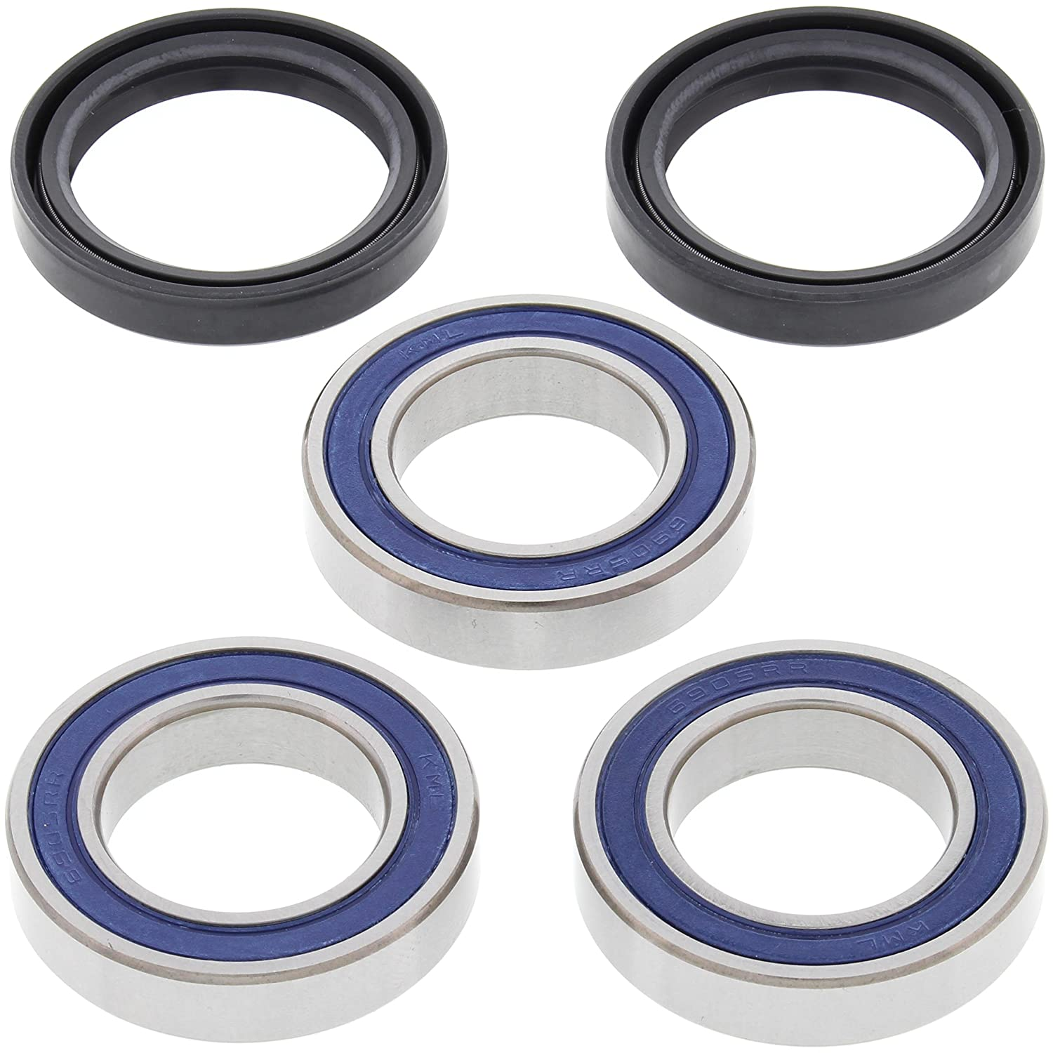 All Balls 25-1406 Rear Wheel Bearing Kit All Balls Racing