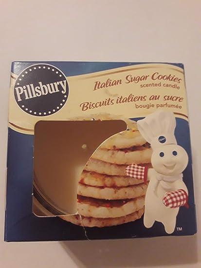 Amazon Com Pillsbury Italian Sugar Cookies Scented Candle Home