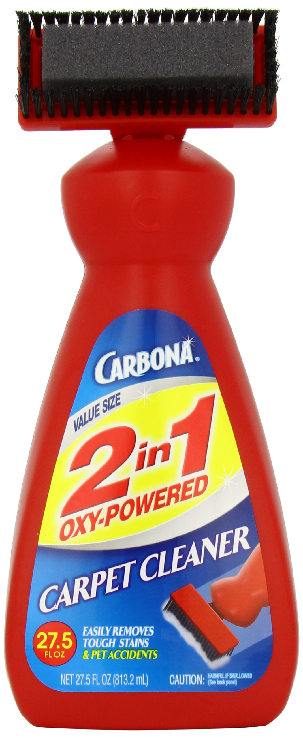 Carbona 2 in 1 Oxy-Powered Carpet Cleaner, 27.5-Ounce Bottle (Pack of 9)