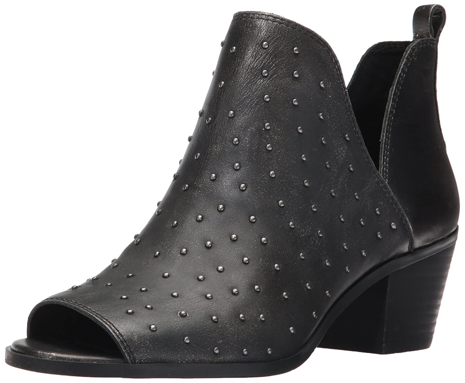 Lucky Brand Women's Barlenna Ankle Boot B06XS4VDPD 8 B(M) US|Black/Silver