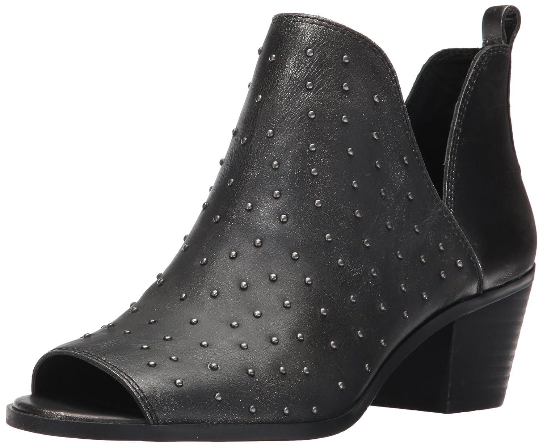Lucky Brand Women's Barlenna Ankle Boot B06XRNQ6BG 9.5 B(M) US|Black/Silver