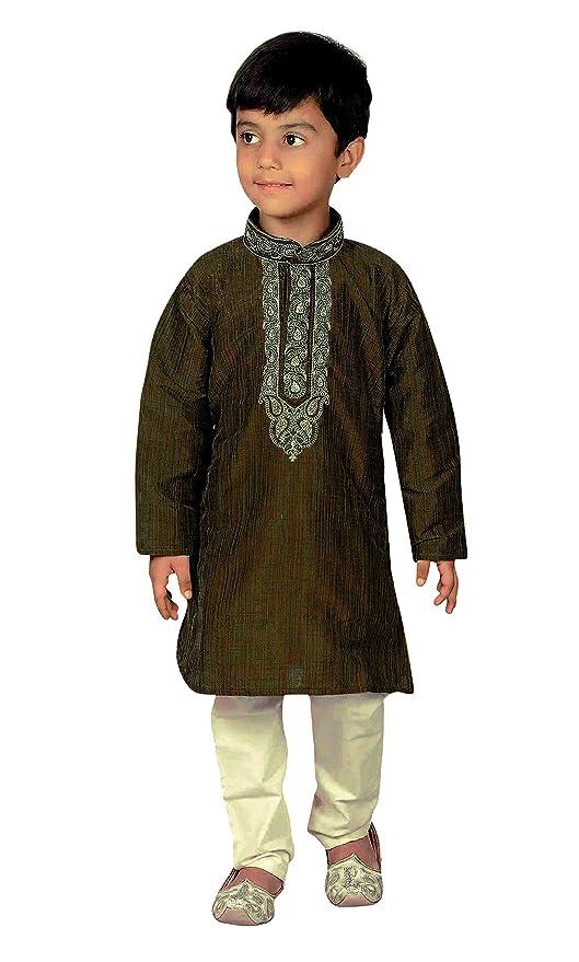 Indian Jungen Kurta Sherwani Kinder Churidar für Eid Bollywood-Thema Party 919