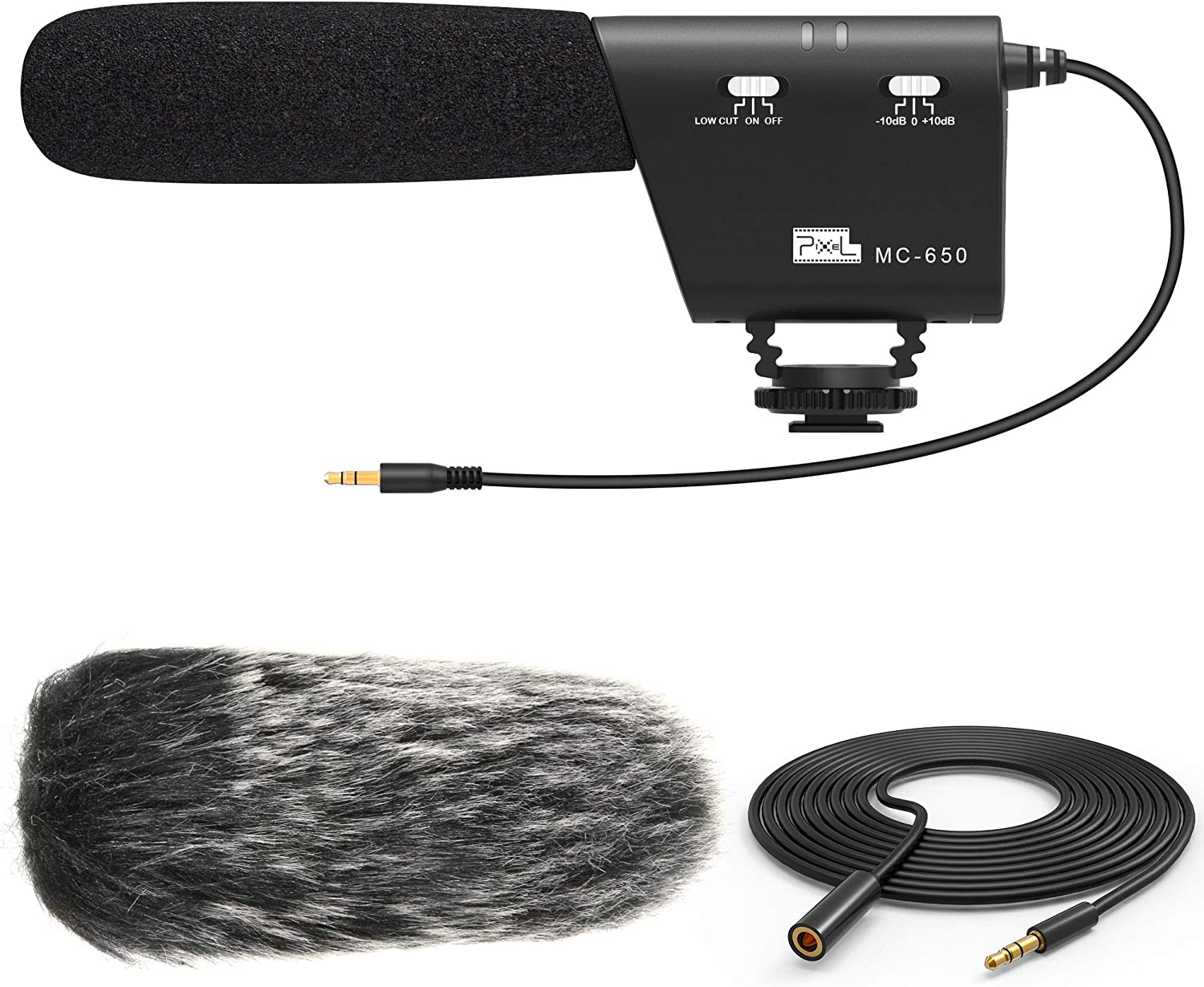 Microphone Windproof Windshield Wind Fur Muff for Canon Nikon Camera Camcorder