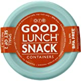 Sugarbooger Good Lunch Small Snack Container, Retro Robot, 2 Count