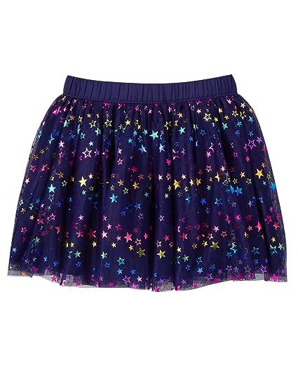 2a69609abd Amazon.com: Gymboree Girls' Little Star Print Tulle Skirt: Clothing