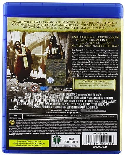 Il re dei re [Italia] [Blu-ray]: Amazon.es: vari, vari, vari ...