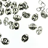 Surgical Steel Earring Backs (Earnuts) (144) 38171