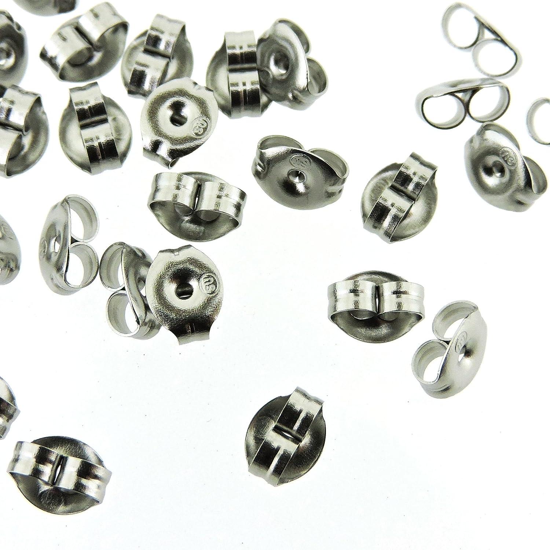 Surgical Steel Earring Backs (Earnuts) (144) 38171 PE9908S