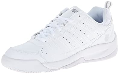 KSwiss Mens Vendy II Everyday Tennis Shoe WhiteSilver