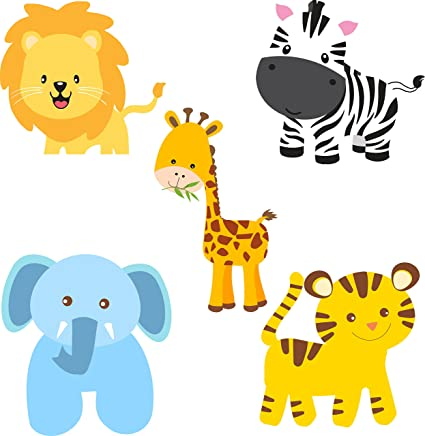Untumble Jungle Theme Birthday Party Decoration Posters Supplies Wall