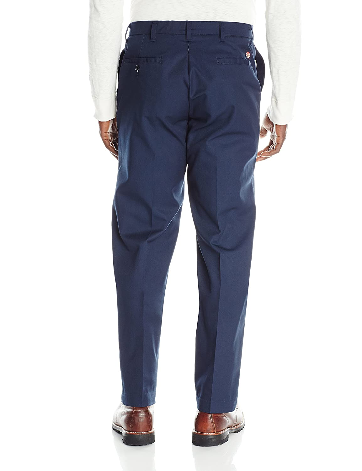 35W x 30L Navy Bulwark Mens Flame Resistant 9 oz Twill Cotton Work Pant