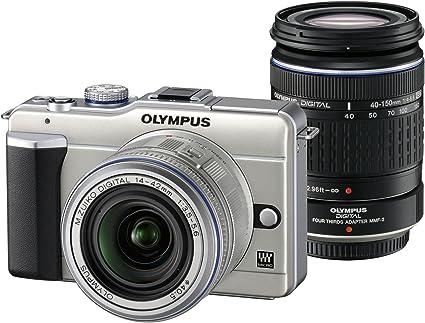 Olympus Pen E Pl1 Systemkamera Double Zoom Kit Kamera