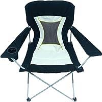 HOMECALL Folding chair, Negro y plata