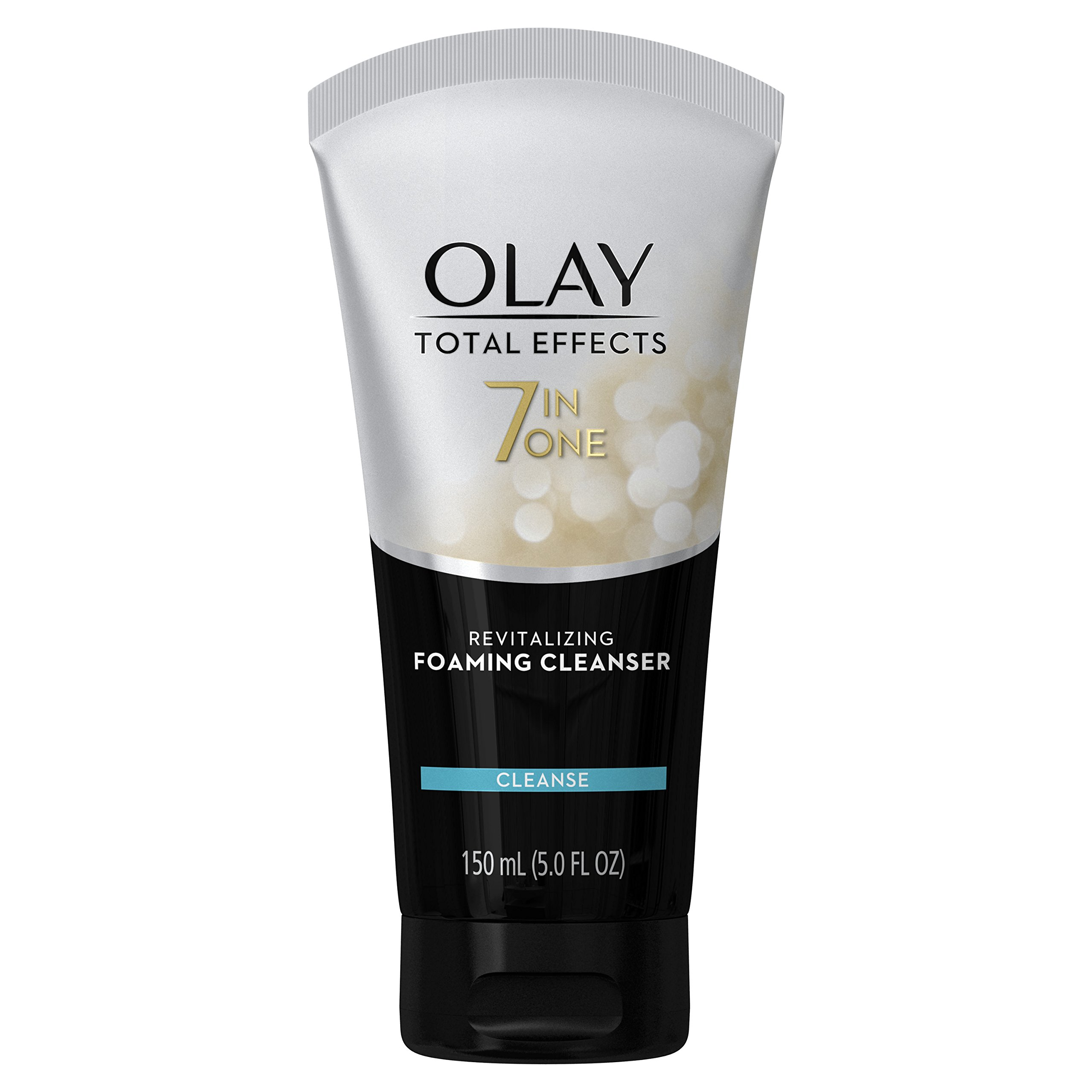 Olay Total Effects Revitalizing Foaming Face Cleanser, 5.0 Fluid Ounce (Pack of 3)