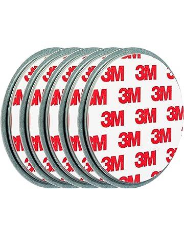 ECENCE Soporte magnético para Detector de Humo - 5 Unidades Soporte magnético Adhesivo para detectores de