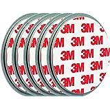 ECENCE 5X Klein-e Mini Rauchmelder-Befestigung Magnet Halter-ung Magnethalter-ung Magnet-pad Ø 50mm 71010102