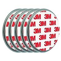 ECENCE 5X Fixation pour détecteur de fumée Aimant Support magnétique Plaquette aimantée 45020108005
