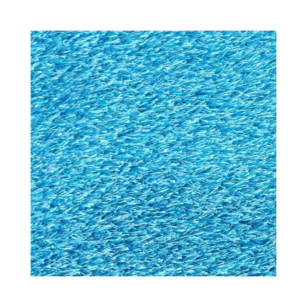 人工芝 いつでもGreen 芝の長さ30mm JQ《メーカー直送品》 ■ブルー ▼幅1m×長さ1m レギュラータイプカラー B06XGCSLRD 11664 幅1m×長さ1m|ブルー ブルー 幅1m×長さ1m