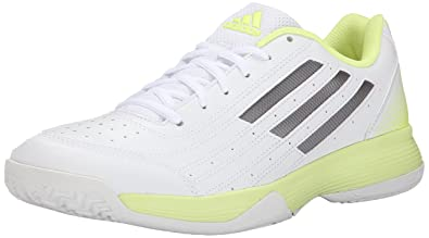 Womens Shoes adidas Sonic Attack White/Tech Silver Metallic/Frozen Yellow