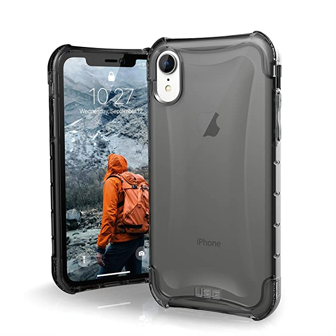 new concept 22eab ab6ce URBAN ARMOR GEAR UAG iPhone XR [6.1-inch Screen] Plyo Feather-Light Rugged  [Ash] Military Drop Tested iPhone Case