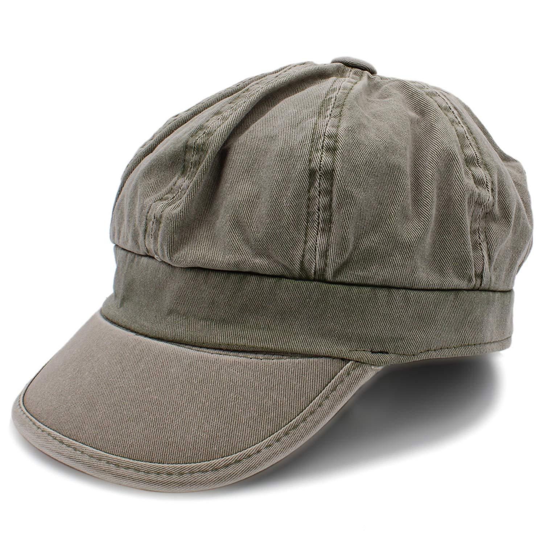 ANDERDM 100/% Cotton Women Octagonal Cap for Laday Newsboy Caps Girl Newspaper Cap Beret Hat A0174-SXJ