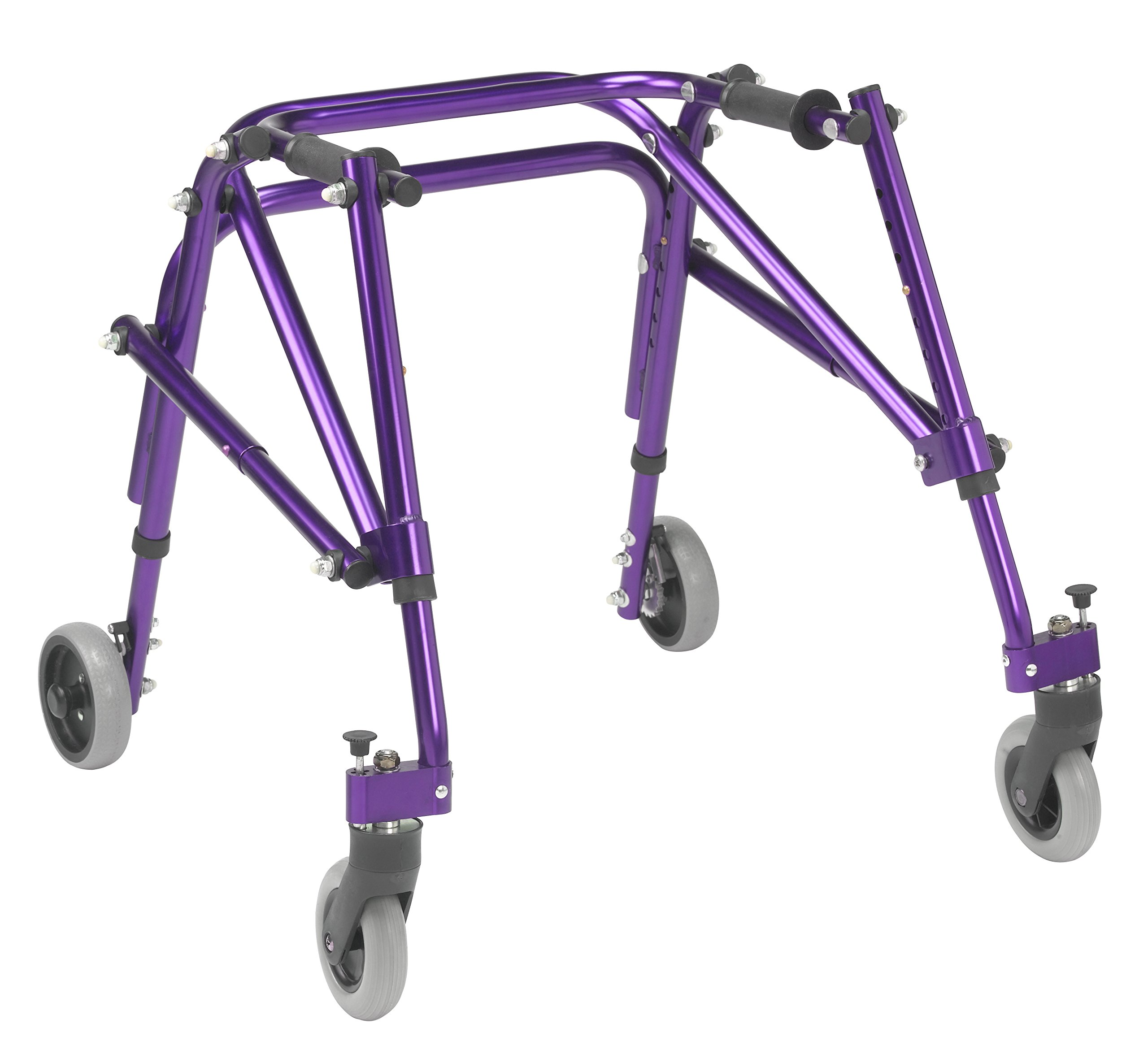 Inspired by Drive Nimbo 2G Lightweight Posterior Walker, Wizard Purple, Small